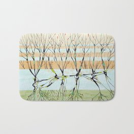 withered tree Bath Mat