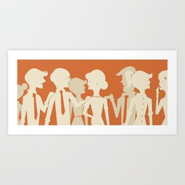 Party People Art Print
