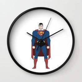 Man of Steel Wall Clock