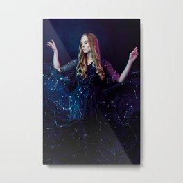 Constellations Queen Metal Print
