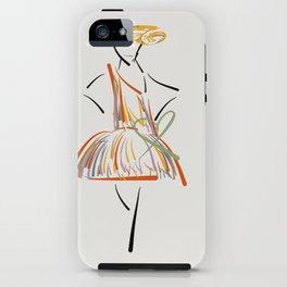 Spring dress  iPhone Case