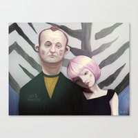 lost in translation Canvas Prints featuring Lost in translation  by Maripili