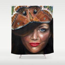 Daylight Moth Shower Curtain
