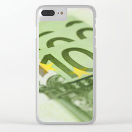 100 euro banknotes Clear iPhone Case