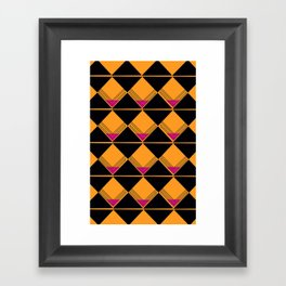 Scotch on the Rox Framed Art Print
