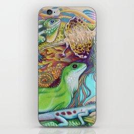 A Tangle Of Lizards, Lizard Art iPhone Skin
