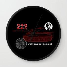 Michael Wittmann Panzer Ace 222 Villers Bocage Black Wall Clock