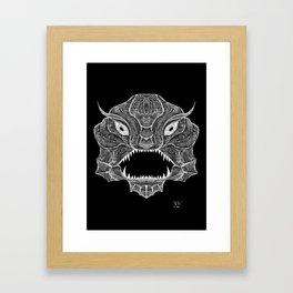 Deep Dweller Framed Art Print