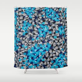 Black Sand Shower Curtain