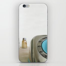 retro timer iPhone Skin