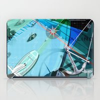 sailing iPad Cases featuring Sailing by Robin Curtiss