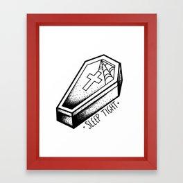 sleep tight Framed Art Print
