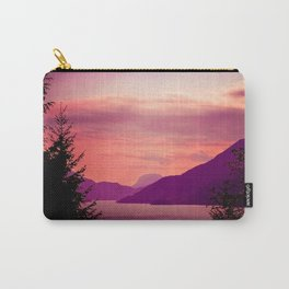 Sunset Sea to Sky Carry-All Pouch