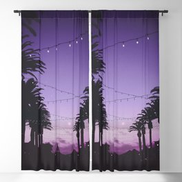 Tropical Summer Night Blackout Curtain