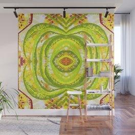 Lush Green Abstract  Wall Mural