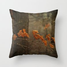 Late Autumn Throw Pillow