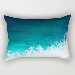 Sea Below Rectangular Pillow