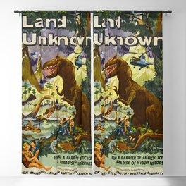 The Land Unknown, 1957 (Vintage Movie Poster) Blackout Curtain
