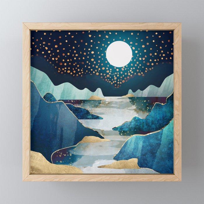 Moon Glow Framed Mini Art Print