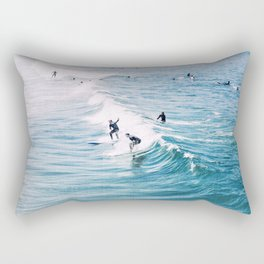 Catch A Wave Rectangular Pillow