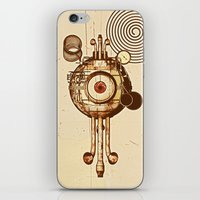 mandie manzano iPhone & iPod Skins featuring hypnotism by dvdesign