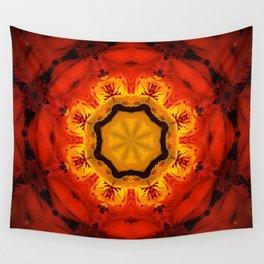 MANDALA DE PLUMA Wall Tapestry