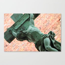 Jesus in Montparnasse Canvas Print