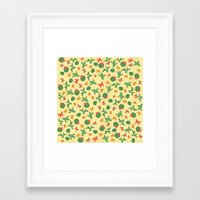 cactus Framed Art Prints featuring Cactus by Kakel