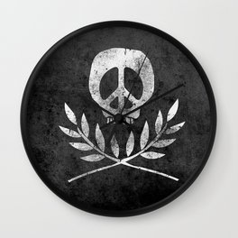 Peace is Death Wall Clock