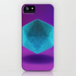 Platonic Fluffy iPhone Case
