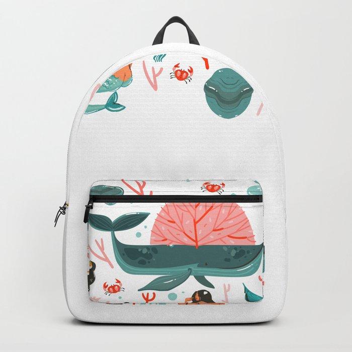 Mermaids summer Backpack