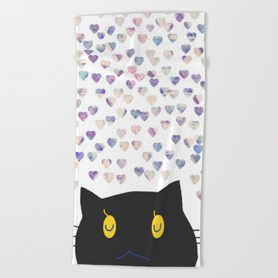 cat-392 Beach Towel