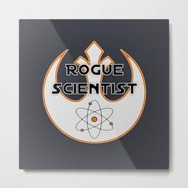 Rogue Scientist Metal Print