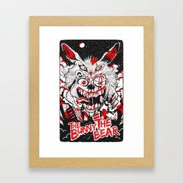 Demon Fluff Framed Art Print