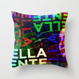 Like words which suggest yet elude their function. [RGB] Throw Pillow