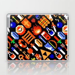 The Legend of Zelda pattern || legendary items Laptop & iPad Skin