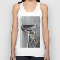 copenhagen Tank Tops featuring Rusty bike Copenhagen by RMK Creative