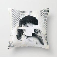 Torn 1 Throw Pillow