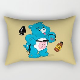 Dirty Bear Rectangular Pillow