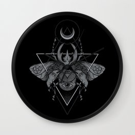 Occult Beetle Wall Clock