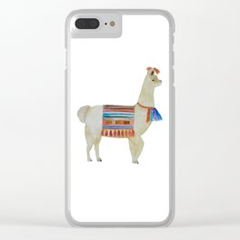 Llama No.1 Clear iPhone Case