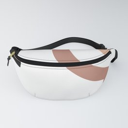 Warm tones Abstract Fanny Pack