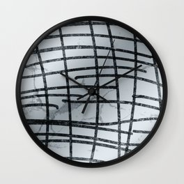 Linear Abtract Wall Clock