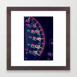 Dashboard 1 Framed Art Print