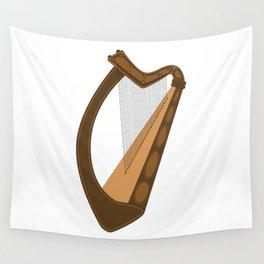 Irish Harp Wall Tapestry