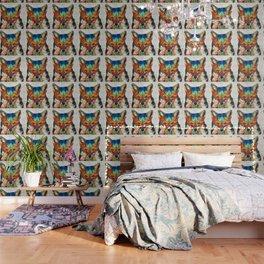 Colorful Fox Art - Foxi - By Sharon Cummings Wallpaper