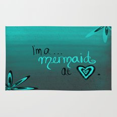 Mermaid At Heart Rug