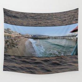 Redondo Beach Pier Wall Tapestry