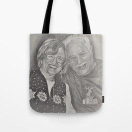 Charles an Gina Tote Bag