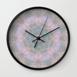 Boho Kaleidoscope 3 Wall Clock